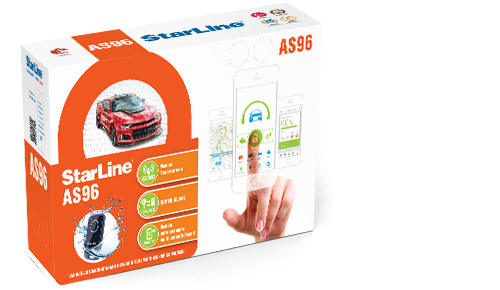 StarLine AS 96 BT 2CAN+2LIN GSM/GPS